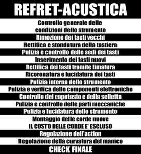 REFRET ACUSTICA